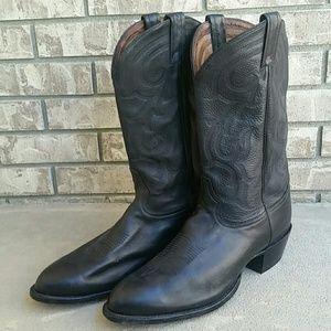 Tony Lama cowboy western boots men's